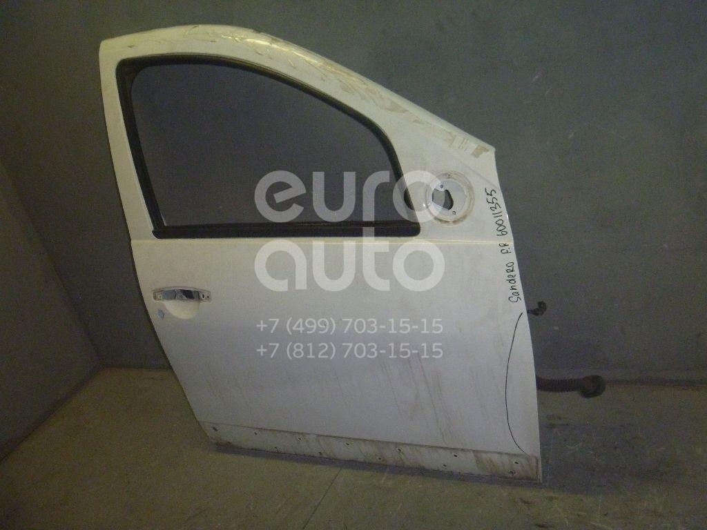 Дверь передняя правая для Renault Sandero 2009-2014 - Фото №1
