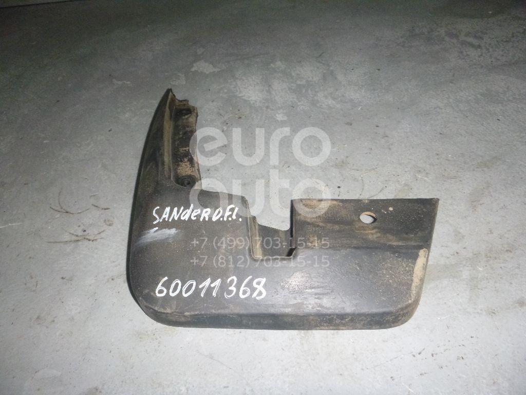 Брызговик передний левый для Renault Sandero 2009-2014 - Фото №1