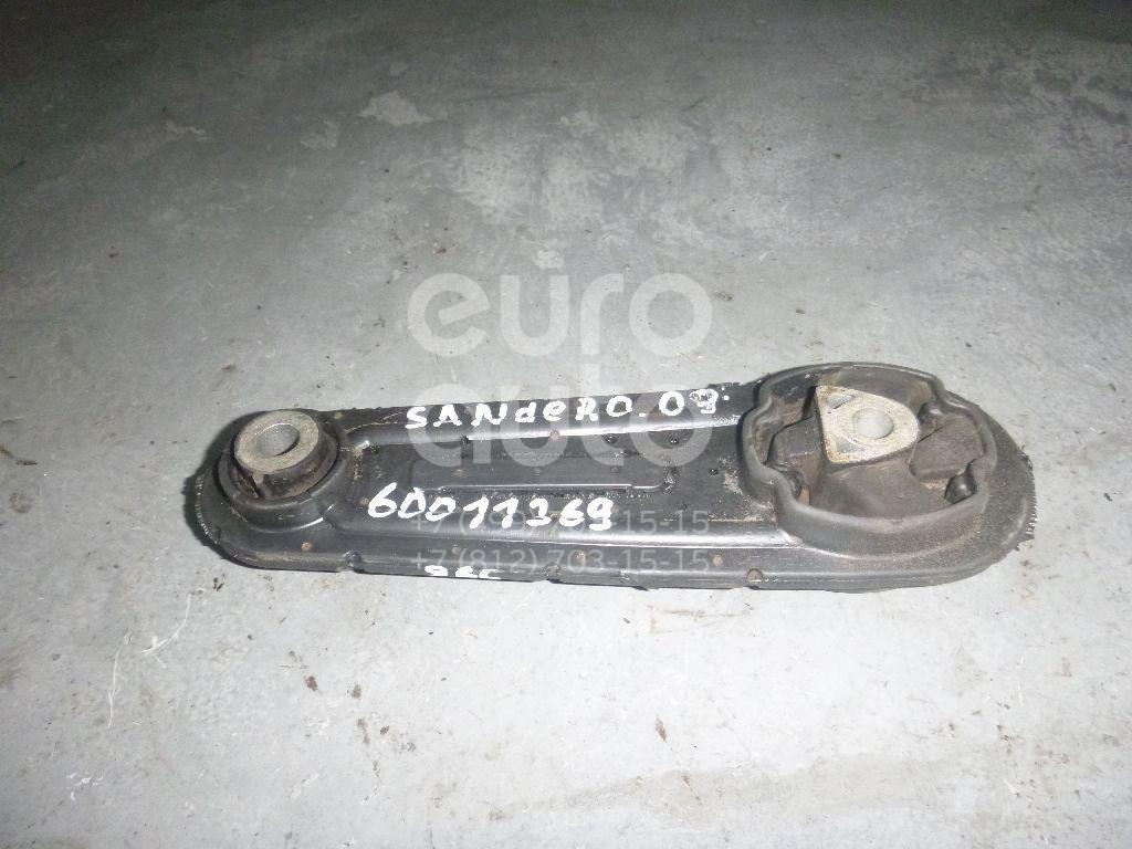 Опора двигателя задняя для Renault,VAZ,Nissan Sandero 2009-2014;Logan 2005-2014;Megane II 2002-2009;Scenic 2003-2009;Lada Largus 2011>;Almera (G15) 2013> - Фото №1