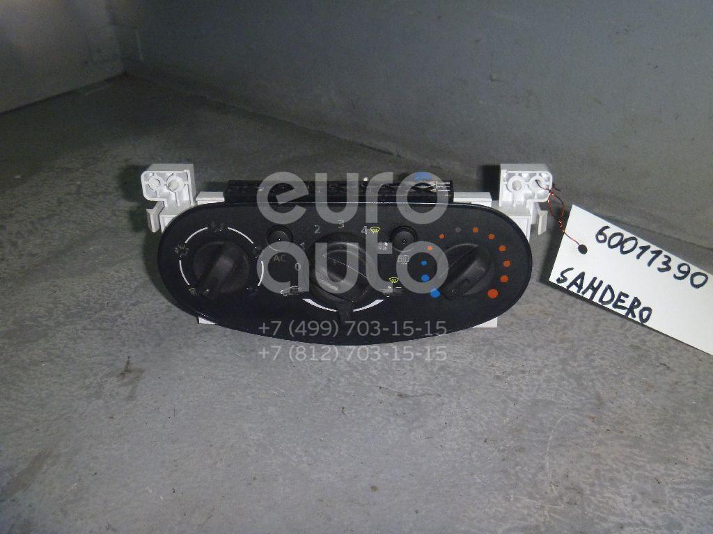 Блок управления отопителем для Renault Sandero 2009-2014 - Фото №1