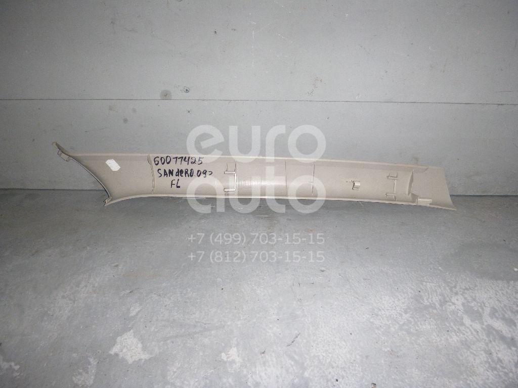 Обшивка стойки для Renault Sandero 2009-2014;Duster 2012> - Фото №1