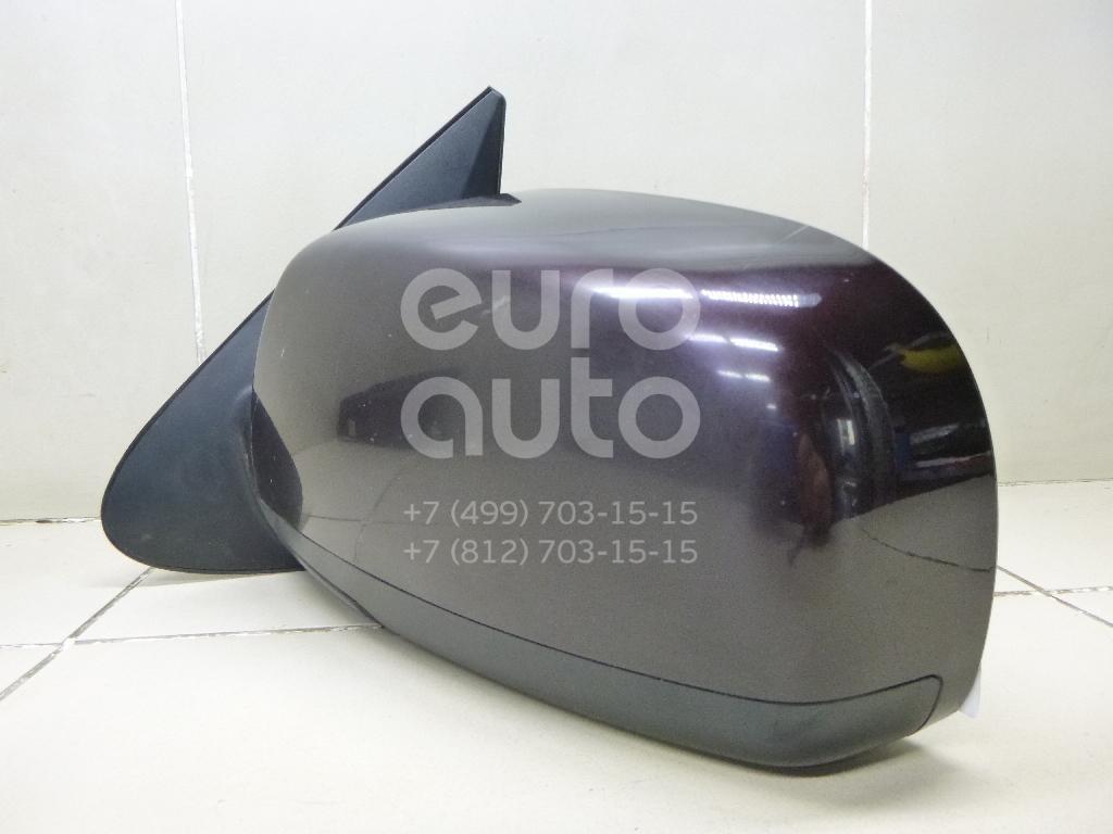 Зеркало левое электрическое для Hyundai Santa Fe (CM) 2006-2012 - Фото №1