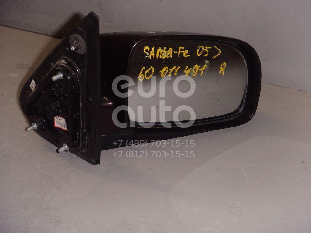 Зеркало правое электрическое для Hyundai Santa Fe (CM) 2006-2012 - Фото №1