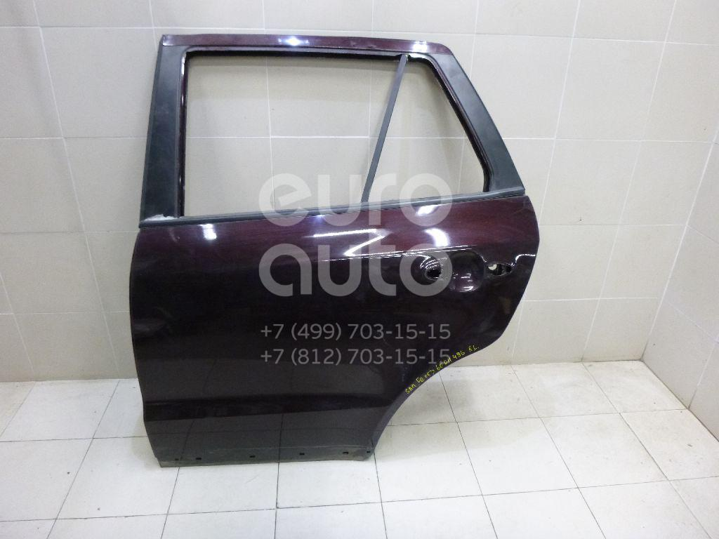 Дверь задняя левая для Hyundai Santa Fe (CM) 2005-2012 - Фото №1