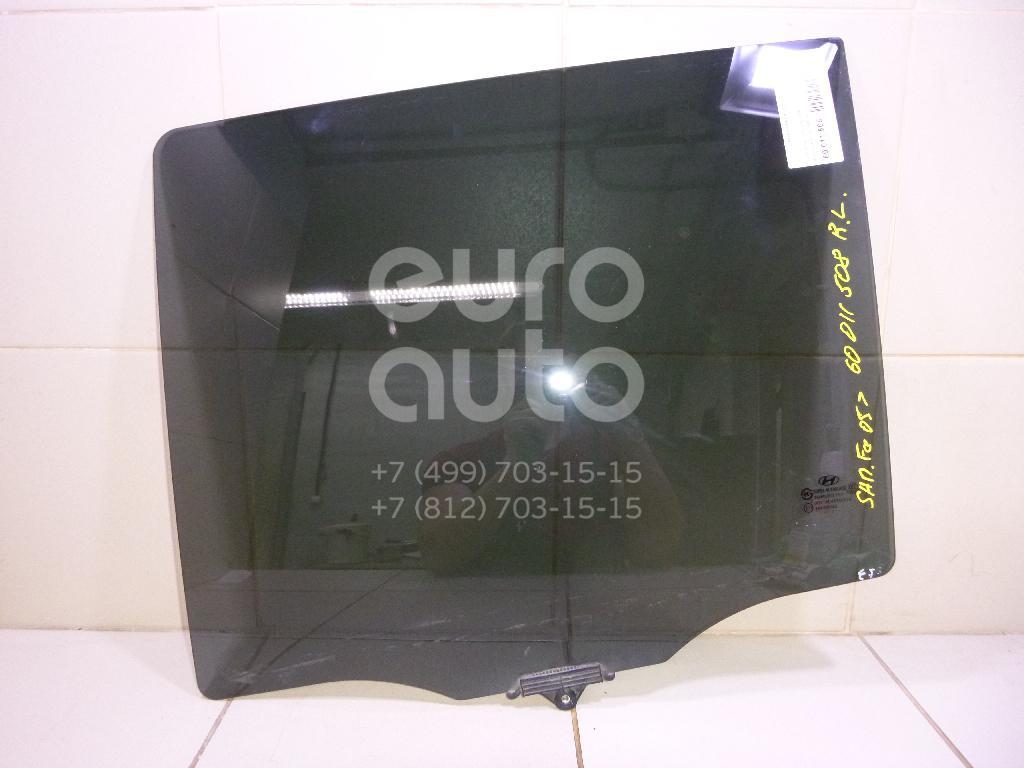 Стекло двери задней левой для Hyundai Santa Fe (CM) 2005-2012 - Фото №1