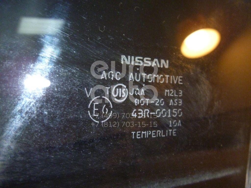 Стекло двери задней левой для Nissan NP300 2008> - Фото №1