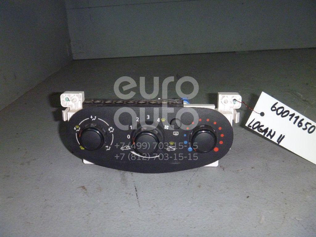 Блок управления отопителем для Renault Logan II 2014>;Sandero 2014> - Фото №1