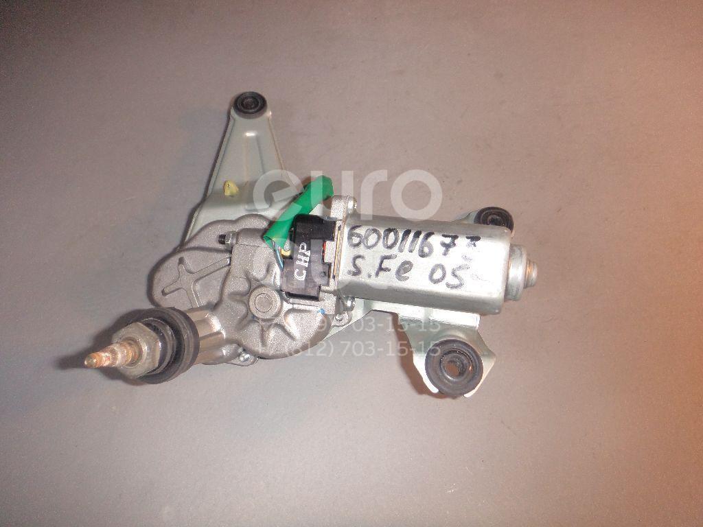 Моторчик стеклоочистителя задний для Hyundai Santa Fe (CM) 2006-2012 - Фото №1