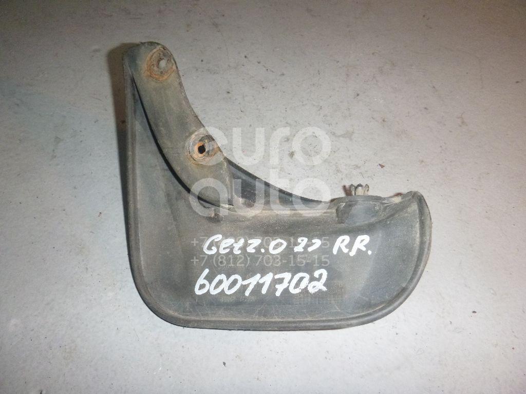 Брызговик задний правый для Hyundai Getz 2002-2010 - Фото №1