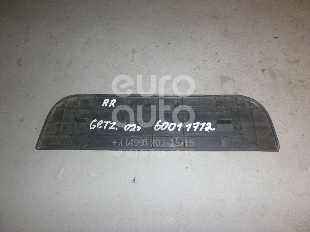 Накладка порога (внутренняя) для Hyundai Getz 2002-2010 - Фото №1
