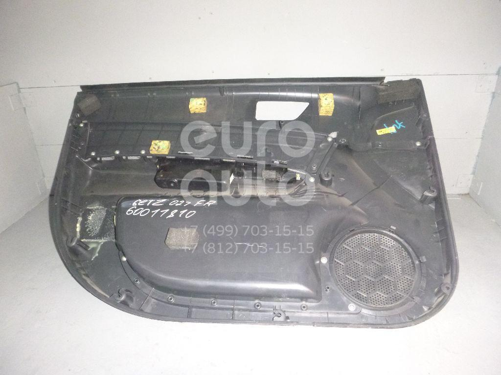 Обшивка двери передней правой для Hyundai Getz 2002-2010 - Фото №1