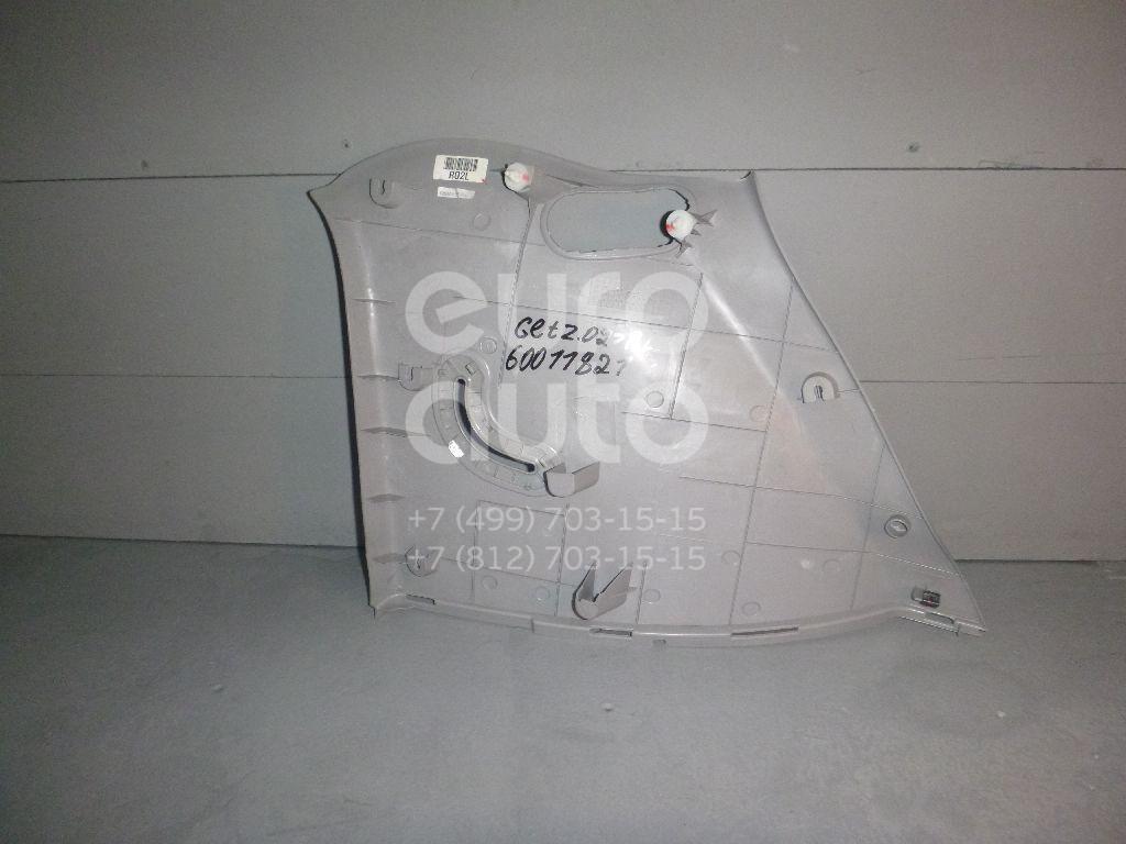Обшивка багажника для Hyundai Getz 2002-2010 - Фото №1