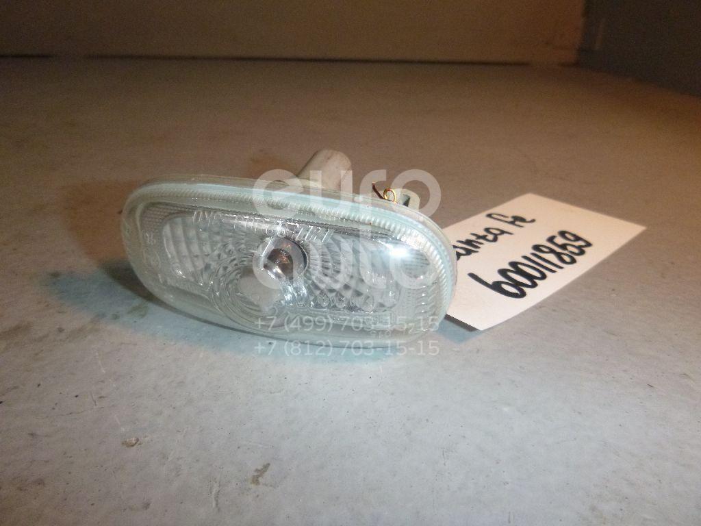 Повторитель на крыло белый для Kia Santa Fe (CM) 2005-2012;Carens 2006-2012 - Фото №1