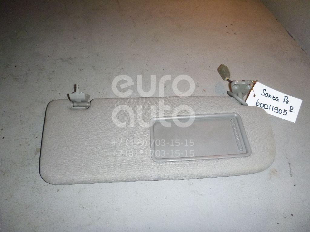 Козырек солнцезащитный (внутри) для Hyundai Santa Fe (CM) 2006-2012 - Фото №1