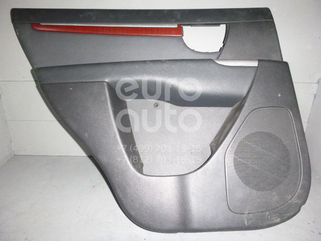 Обшивка двери задней левой для Hyundai Santa Fe (CM) 2006-2012 - Фото №1