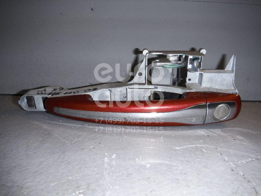 Ручка двери передней наружная левая для Citroen C5 2008> - Фото №1