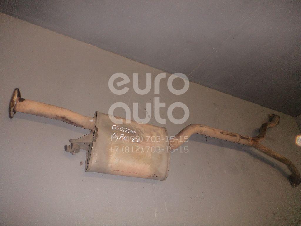 Глушитель средняя часть для Hyundai Santa Fe (CM) 2006-2012 - Фото №1