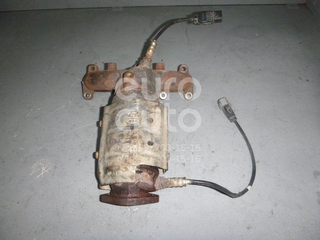 Коллектор выпускной для Hyundai Santa Fe (CM) 2006-2012 - Фото №1