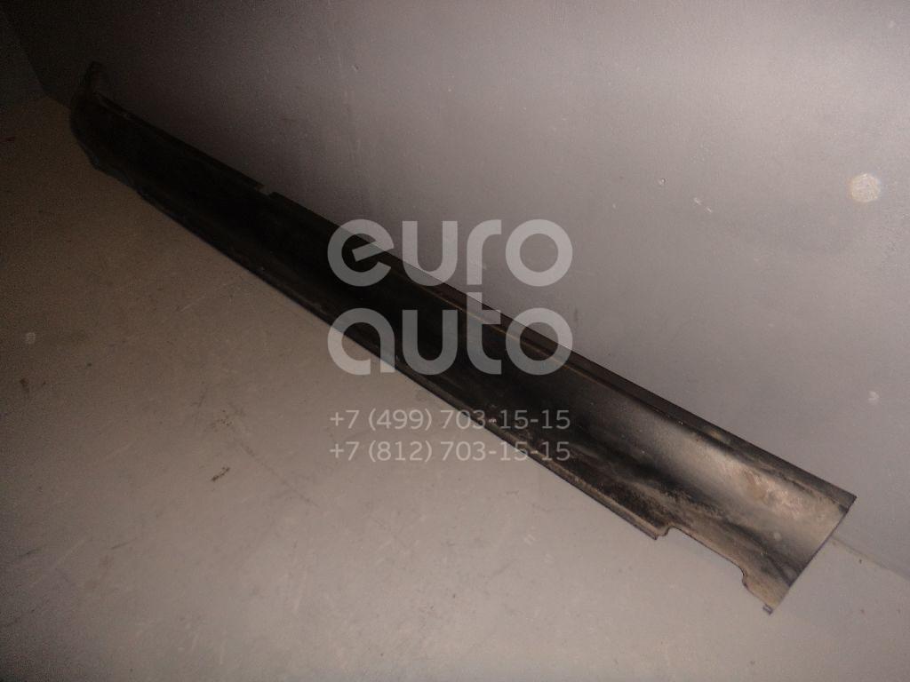 Накладка на порог (наружная) для Hyundai Santa Fe (CM) 2005-2012 - Фото №1