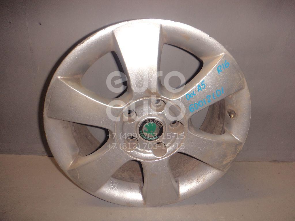 Диск колесный легкосплавный для Skoda Octavia (A5 1Z-) 2004-2013 - Фото №1