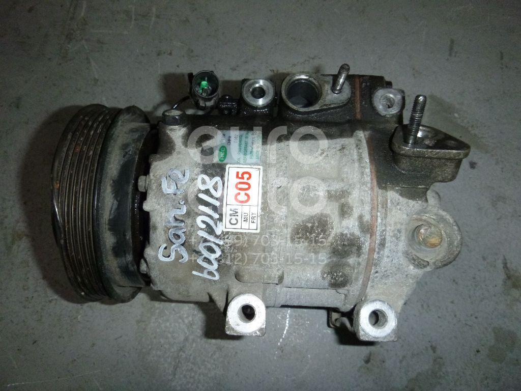 Компрессор системы кондиционирования для Hyundai Santa Fe (CM) 2006-2012 - Фото №1