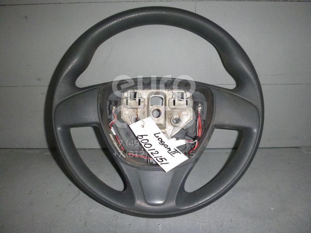 Рулевое колесо для AIR BAG (без AIR BAG) для Renault Logan II 2014>;Sandero 2014> - Фото №1