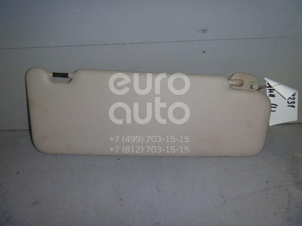Козырек солнцезащитный (внутри) для Renault Logan II 2014>;Sandero 2009-2014;Duster 2012> - Фото №1