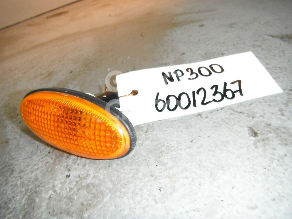 Повторитель на крыло желтый для Nissan NP300 2008>;King Cab D22 1998-2005 - Фото №1