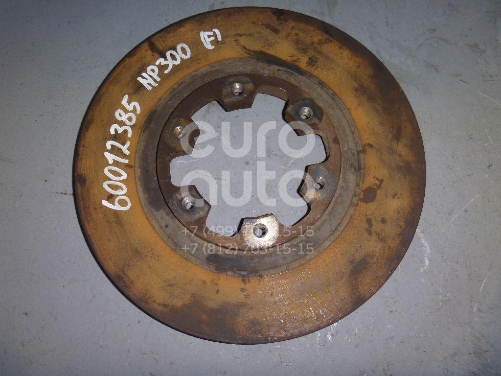 Диск тормозной передний вентилируемый для Nissan,Infiniti NP300 2008>;Terrano II /Pathfinder (R50) 1996-2004;King Cab D22 1998-2005;QX4 (JR50) 1996-2002 - Фото №1