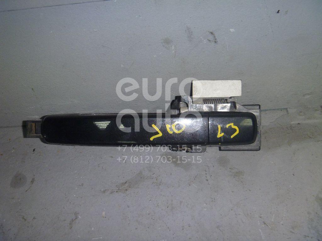 Ручка двери задней наружная левая для Nissan Qashqai (J10) 2006-2014 - Фото №1