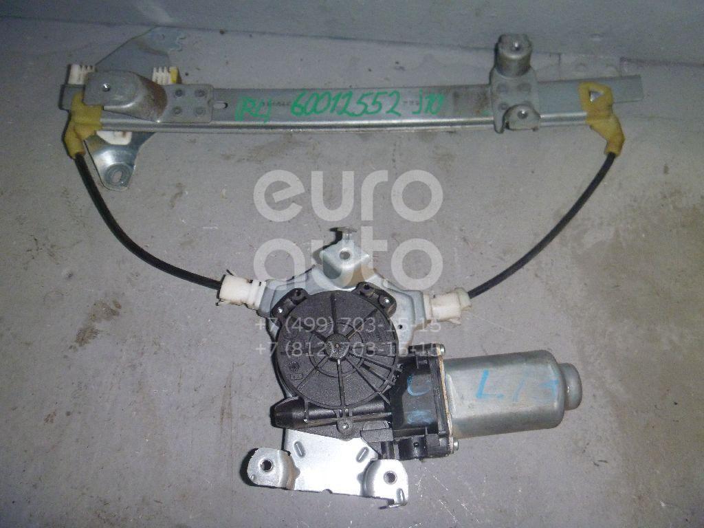 Стеклоподъемник электр. задний левый для Nissan Qashqai (J10) 2006-2014 - Фото №1