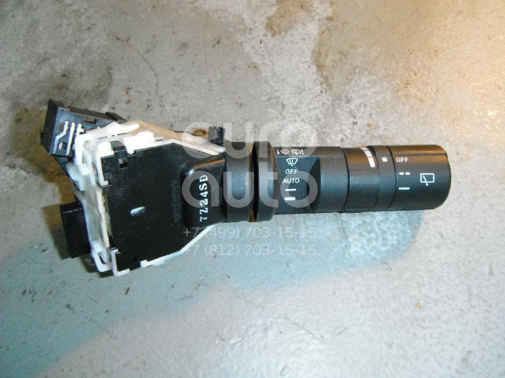 Переключатель стеклоочистителей для Nissan Qashqai (J10) 2006-2014;Qashqai+2 (JJ10) 2008-2014 - Фото №1