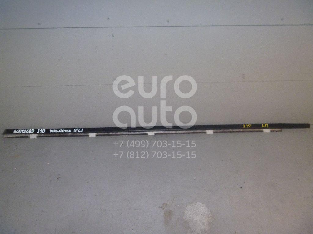 Накладка стекла переднего левого для Nissan Qashqai (J10) 2006-2014;Qashqai+2 (JJ10) 2008-2014 - Фото №1