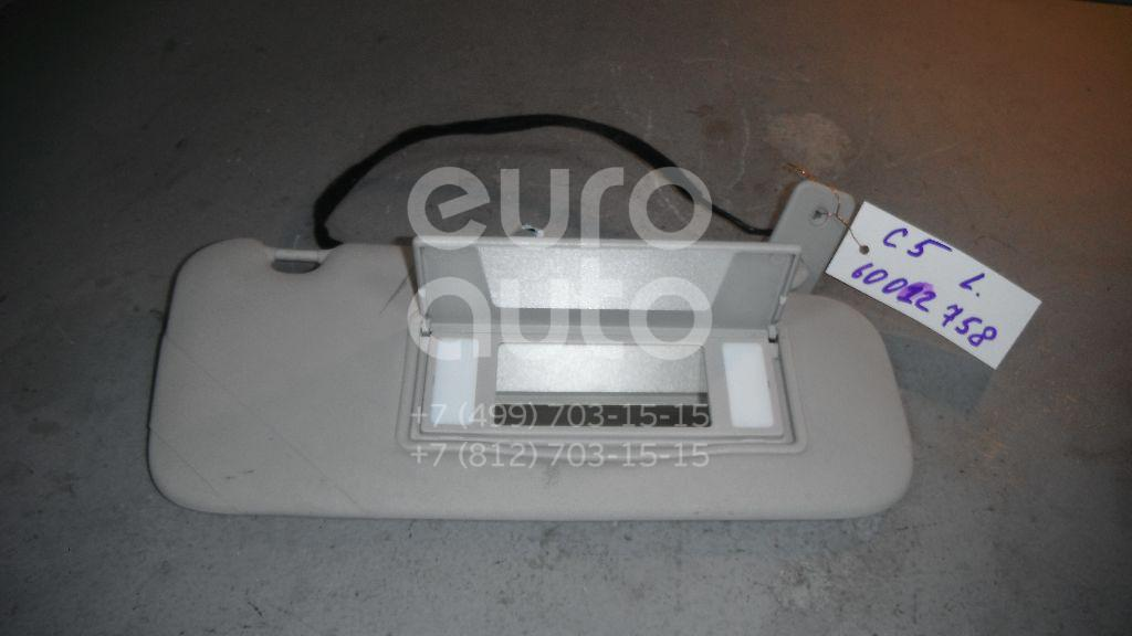Козырек солнцезащитный (внутри) для Citroen C5 2008> - Фото №1
