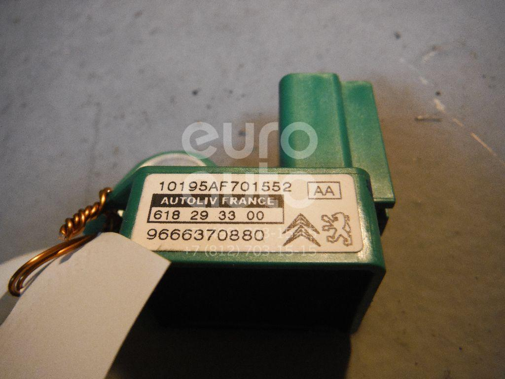 Датчик AIR BAG для Citroen,Peugeot C5 2008>;308 I 2007-2015;Partner Tepee(B9) 2008>;Berlingo (NEW) (B9) 2008>;C3 2009-2016;C3 Picasso 2008>;408 2012> - Фото №1