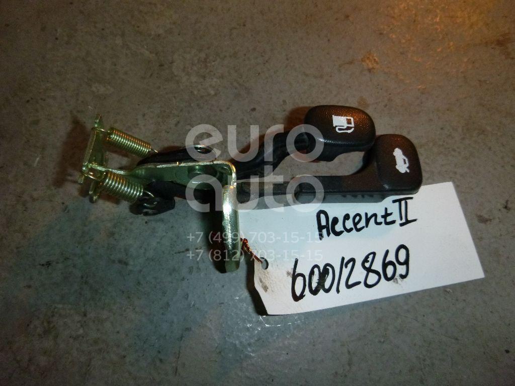 Ручка открывания багажника для Kia Accent II (+ТАГАЗ) 2000-2012;Atos (MX) 1998-2003;Cerato 2004-2008;Lantra 1996-2000;Cerato 2009-2013;Solaris/Accent IV 2010>;RIO 2011>;Cerato 2013> - Фото №1