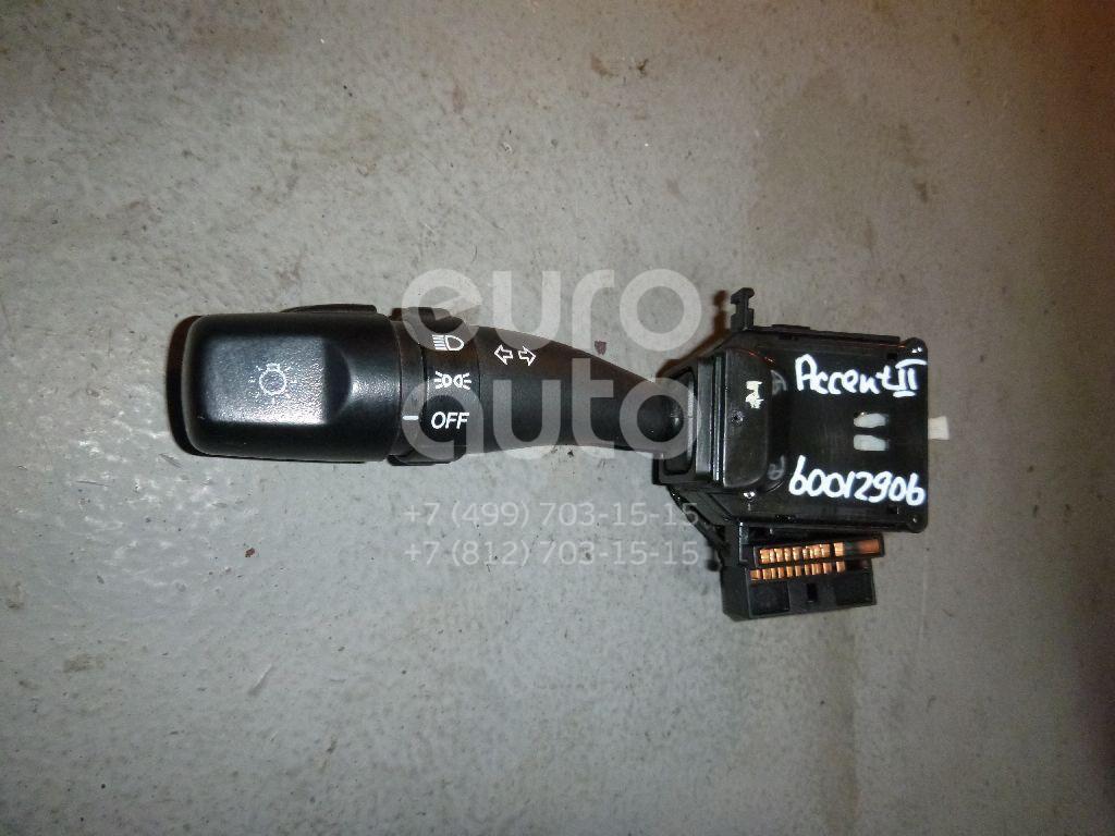 Переключатель поворотов подрулевой для Hyundai Accent II (+ТАГАЗ) 2000-2012 - Фото №1