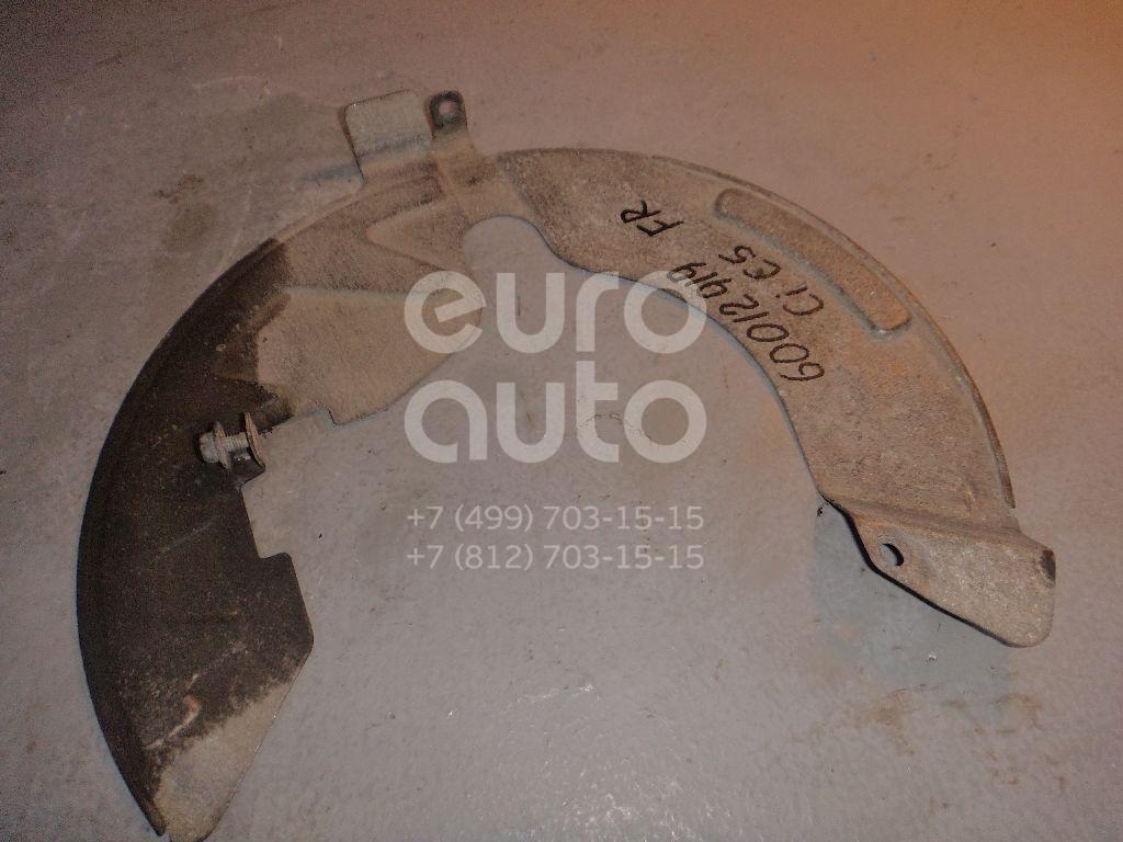 Пыльник тормозного диска для Citroen C5 2008>;407 2004>;C6 2006> - Фото №1