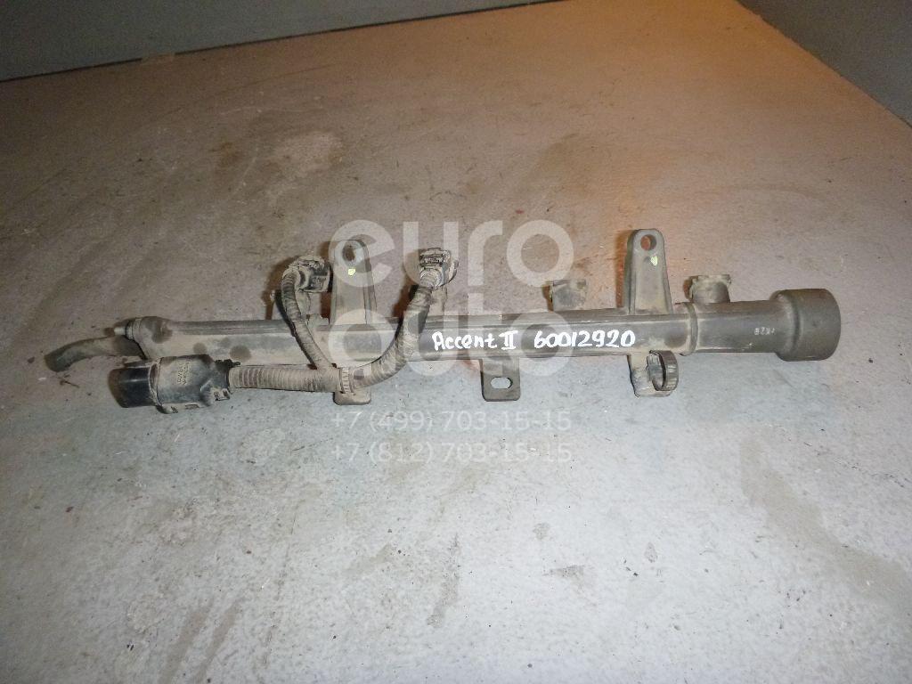 Рейка топливная (рампа) для Hyundai Accent II (+ТАГАЗ) 2000-2012;Getz 2002-2010 - Фото №1