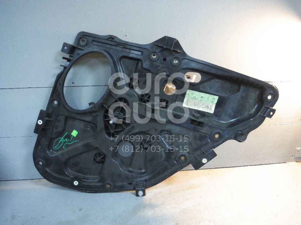Стеклоподъемник механ. задний правый для Ford Fiesta 2001-2008;Fusion 2002-2012 - Фото №1