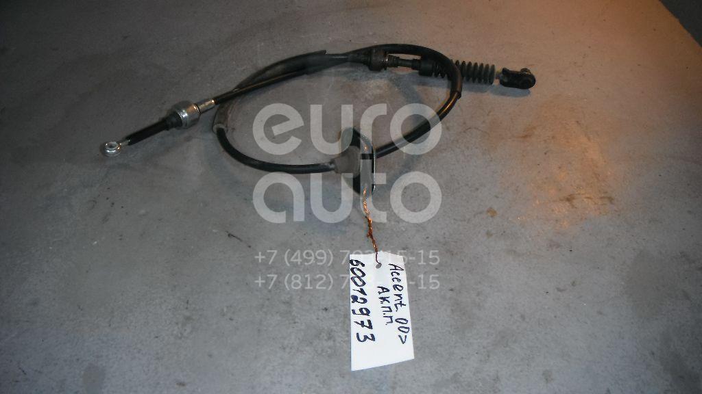 Трос КПП для Hyundai Accent II (+ТАГАЗ) 2000-2012 - Фото №1