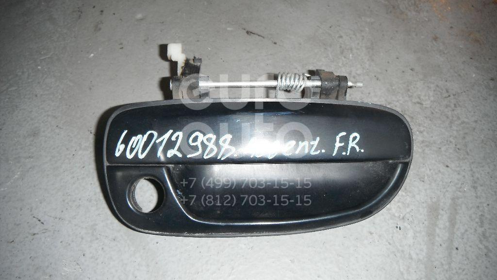 Ручка двери передней наружная правая для Hyundai Accent II (+ТАГАЗ) 2000-2012 - Фото №1