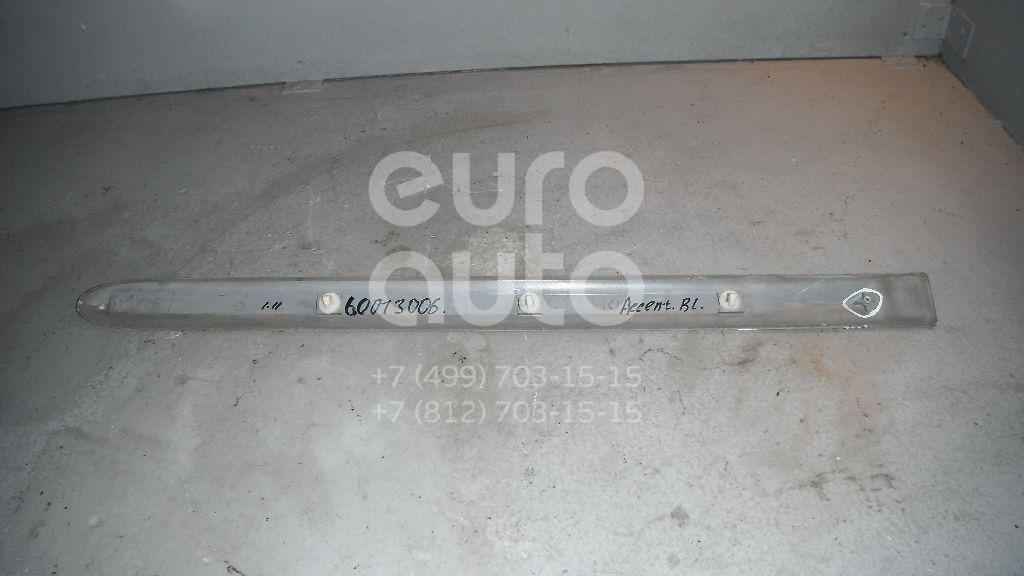 Молдинг задней левой двери для Hyundai Accent II (+ТАГАЗ) 2000-2012 - Фото №1