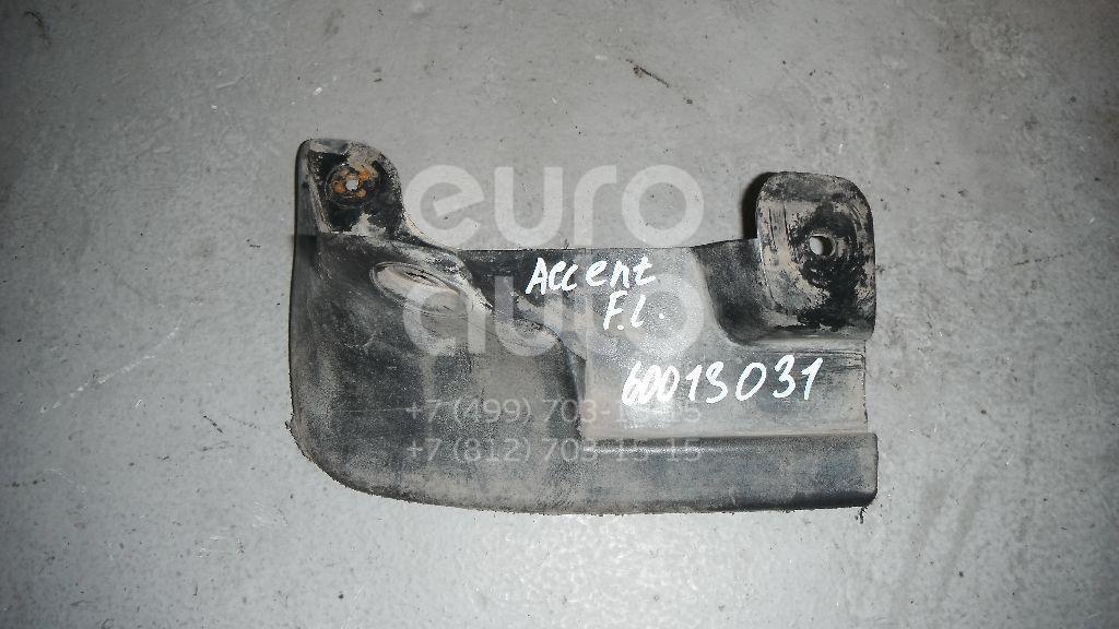 Брызговик передний левый для Hyundai Accent II (+ТАГАЗ) 2000-2012 - Фото №1