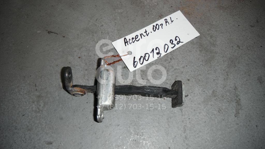 Ограничитель двери для Hyundai Accent II (+ТАГАЗ) 2000-2012 - Фото №1