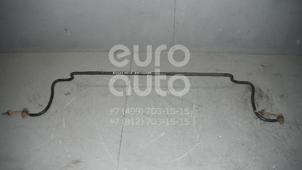 Стабилизатор задний для Hyundai Accent II (+ТАГАЗ) 2000-2012 - Фото №1