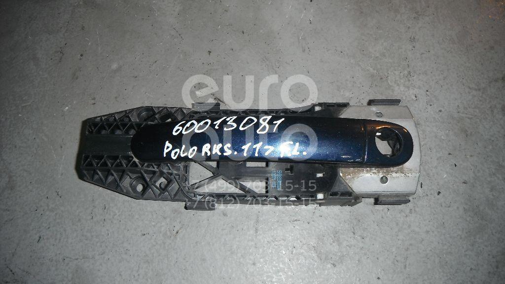 Ручка двери передней наружная левая для VW Polo (Sed RUS) 2011> - Фото №1