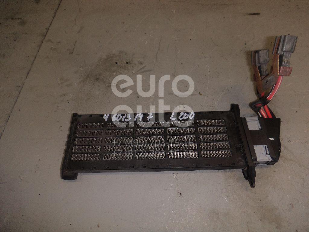 Радиатор отопителя электрический Mitsubishi L200 (KB) 2006-2016; (7802A199)