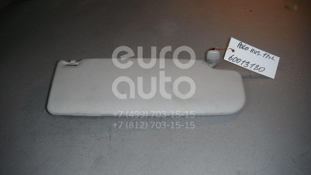 Козырек солнцезащитный (внутри) для VW Polo (Sed RUS) 2011>;Polo (HB) 2009> - Фото №1