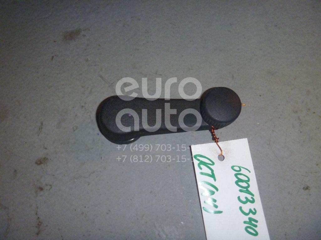 Ручка стеклоподъемника для Skoda Octavia (A4 1U-) 2000-2011;Leon (1M1) 1999-2006;Sprinter (901) 1995-2006;Cordoba 1993-1996;Ibiza 1993-1996;Toledo II 1999-2006;Octavia 1997-2000;Golf III/Vento 1991-1997;Golf IV/Bora 1997-2005 - Фото №1